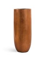 Treez Кашпо Effectory Metal Высокий округлый конус, 72х31 см, медь