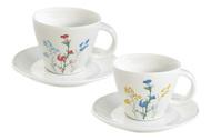 Easy Life (R2S) Набор кофейных пар Луговые цветы (120 мл), 2 шт.