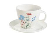 Easy Life (R2S) Чашка с блюдцем Луговые цветы (250 мл)