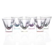 RCR Набор стопок для водки Fusion Colour (60 мл), 6 шт., цветные