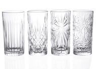 RCR Набор стаканов для воды Mixology (368 мл), 4 шт.