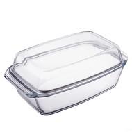 Simax Блюдо для запекания с крышкой (3.2 л), жаропрочное стекло