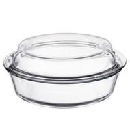 Simax Кастрюля стеклянная для запекания (2.5 л), с двумя крышками