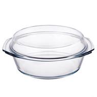 Simax Кастрюля стеклянная для запекания (3.5 л), с крышкой