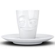 Tassen Кофейная чашка с блюдцем Impish (80 мл), белая