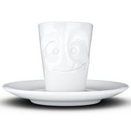 Tassen Кофейная чашка с блюдцем Tasty (80 мл), белая