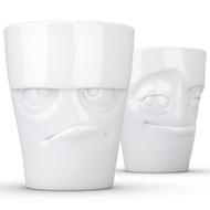 Tassen Набор кружек Grumpy & Impish (350 мл), 2 шт., белые