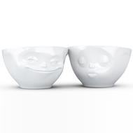 Tassen Набор чаш Grinning & Kissing (200 мл), 2 шт., белые