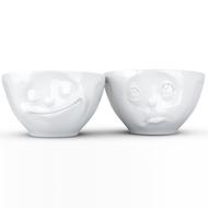 Tassen Набор чаш Happy & Oh please (200 мл), 2 шт., белые