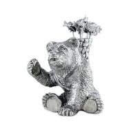 Vagabond House Набор шпажек с подставкой Лесные истории.Медведь, 6 шт., 8 см