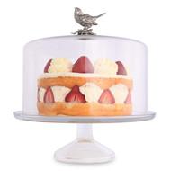 Vagabond House Блюдо для торта на ножке Птичья трель, 10х31 см