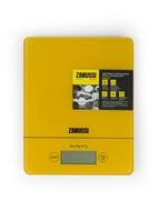 Zanussi Весы кухонные цифровые Brescia, желтые