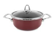 Kochstar Кастрюля эмалированная Copper Core Cookware (2.8 л), 20 см, бордо