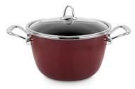 Kochstar Кастрюля эмалированная Copper Core Cookware (6.1 л), 24 см, бордо