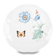 Lenox Тарелка акцентная Бабочки на лугу.Бабочка-Монарх, 23 см