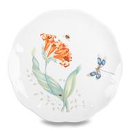 Lenox Тарелка акцентная Бабочки на лугу.Стрекоза, 23 см
