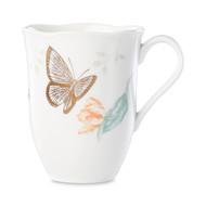 Lenox Кружка Бабочки на лугу. Голубая бабочка (354 мл), золото