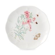 Lenox Тарелка акцентная Бабочки на лугу. Бабочка-Парус, 23 см, золото