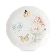 Lenox Тарелка обеденная Бабочки на лугу. Бабочка-Монарх, 27.5 см, золото