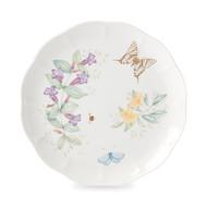 Lenox Тарелка обеденная Бабочки на лугу. Бабочка-Парус, 27.5 см, золото