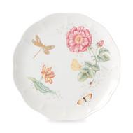 Lenox Тарелка обеденная Бабочки на лугу. Стрекоза, 27.5 см, золото
