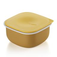 Guzzini Контейнер квадратный Regeneration Mustard (500 мл), желтый