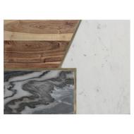 Typhoon Доска сервировочная Elements из мрамора, камня и акации, 40х30 см