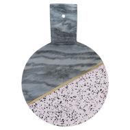 Typhoon Доска сервировочная из мрамора и камня Elements, 25 см