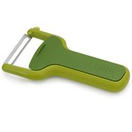 Joseph & Joseph Овощечистка с горизонтальным лезвием SafeStore, зеленая