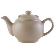 Price&Kensington Чайник заварочный Matt Glaze (1.1 л), бежевый