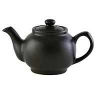 Price&Kensington Чайник заварочный Matt Glaze (1.1 л), черный