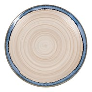 WaechtersBach Набор тарелок Голубой песок, 20.2 см, 4 шт.