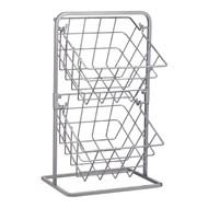 Kitchen Craft Корзина для хранения двухуровневая Industrial Kitchen, 22х25х41.5 см