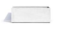 Cosapots Кашпо Athena, 100х40х40 см, белое