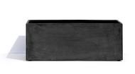 Cosapots Кашпо Athena, 100х40х40 см, темно-серое