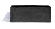 Cosapots Кашпо Athena, 75х28х30 см, темно-серое