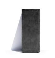Cosapots Кашпо Barcelona, 32х32х68 см, темно-серое