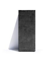 Cosapots Кашпо Barcelona, 41х41х90 см, темно-серое