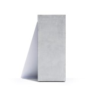 Cosapots Подставка-постамент Barcelona, 41х41х90 см, светло-серая