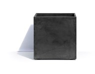 Cosapots Кашпо Geneva, 44х44х44 см, темно-серое