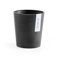 ECOPOTS Кашпо Morinda, 14х16 см, антрацит