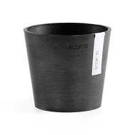 ECOPOTS Кашпо Amsterdam, 13х11.5 см, антрацит