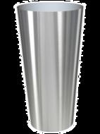 Nieuwkoop Europe Кашпо на круглой подставке Superline Conica, 70х135 см, серебро