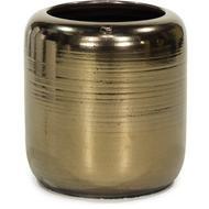 Fleur Ami Ваза Glaze Vase Antique-gold hammered, 50х53 см, античное золото