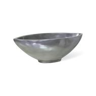 Fleur Ami Кашпо Loft Aluminium, 69х36х21 см, серебро