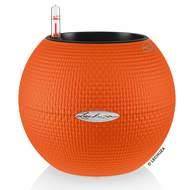 Lechuza Кашпо Puro Color, 20х16 см, оранжевое, все-в-одном