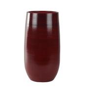 Ter Steege Кашпо керамическое высокое Cresta, 31х68 см, красное