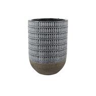 Кашпо керамическое Elin, 19х27 см, деним