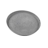 Поддон полистоун Nova, 23х2 см, антрацит