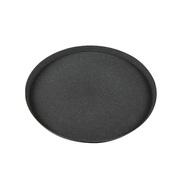 Ter Steege Поддон полистоун Nova, 23х2 см, черный